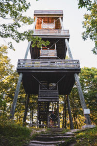 Parnell Tower at Kettle Moraine State Forest