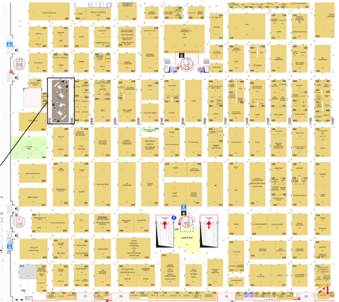 Index™20 booth map